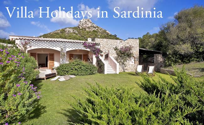 Villa Holidays in Sardinia